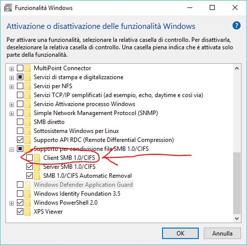 Network scanner that no longer works after Windows 10 update