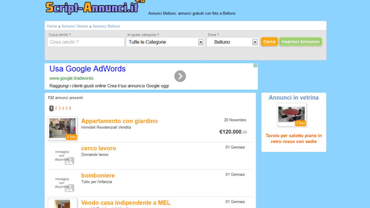 Script Annunci, crea il tuo sito di annunci