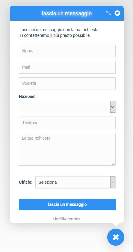 Livezilla contact form